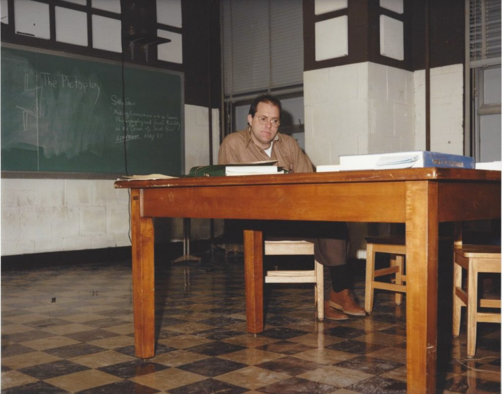 joachim brohm allen sekula in classroom osu 1984